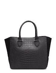 Sydney tote - ALLIGATOR BLACK