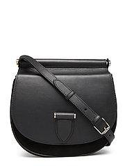 Brenna satchel bag - BLACK