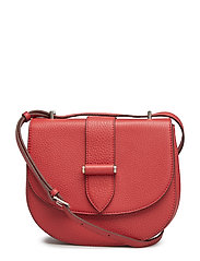 Kim satchel bag - SCARLET RED