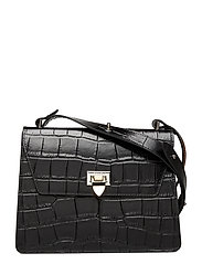 Nadia cross-over - CROCO BLACK