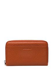 Medium zip wallet - AUTUMN ORANGE