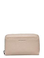 Medium zip wallet - BONE