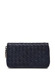 Andrea woven wallet - NAVY
