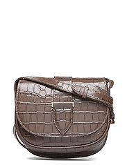 Trisha satchel bag - CROCO MOCHA
