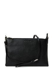 Jayla small flat cross body - BLACK