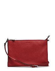 Jayla small flat cross body - SCARLET RED