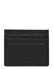 Two side card holder - BLACK