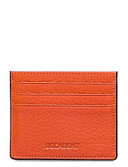 Two side card holder - TOMATO