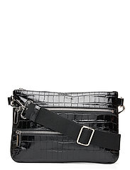 Belt bag - CROCO BLACK