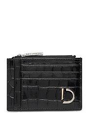 Ellie card holder - CROCO BLACK