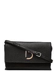 Kristin flap bag - BLACK