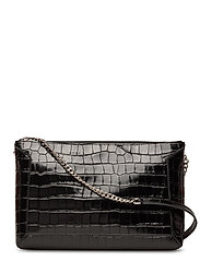 Joyce shoulder bag - CROCO BLACK