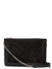 Joyce shoulder bag - SUEDE BLACK