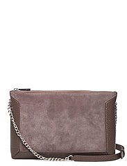 Joyce shoulder bag - SUEDE MOCHA