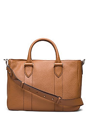 Lydia working bag - COGNAC