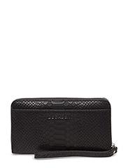 Zip wallet - ANACONDA BLACK