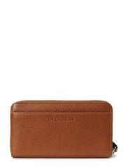 Zip wallet - COGNAC
