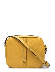 Round cross body w/stripe - Flotter - VIBRANT YELLOW