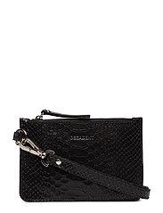 Elisa mobile purse - ANACONDA BLACK