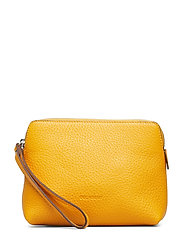 Hannah makeup purse - GOLDEN YELLOW