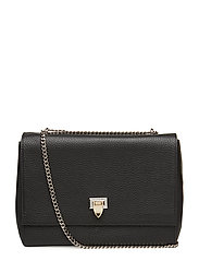 Big bag with buckle and chain