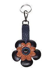 Flower key-ring - NAVY