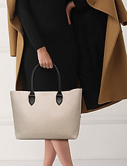 Decadent - Terri canvas tote - fashion shoppers - black - 2