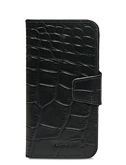 Alana iPhone 11 flip cover - CROCO BLACK