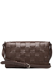 Sylvia woven cross-body - MOCHA