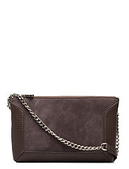 Anna small shoulder bag - SUEDE MOCHA