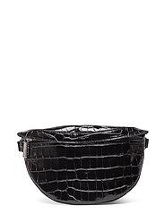 Lina mini bum bag - CROCO BLACK