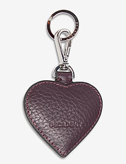 Decadent - Heart keyring - key rings - plum - 0