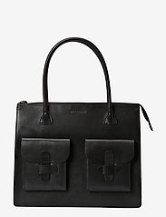 Decadent - Working Bag Two Pocket - fashion shoppers - black - 0