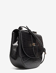 Kim Satchel Bag (Croco Black) (2560 kr) Decadent |