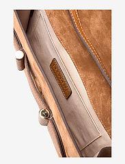 Decadent - Janice clutch with strap - olkalaukut - suede cognac - 4