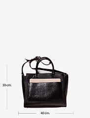 Decadent - Working bag with clutch and strap - henkeltaschen - black - 6