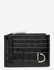 Decadent - Ellie card holder - card holders - croco black - 0