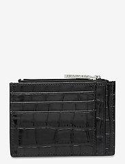 Decadent - Ellie card holder - card holders - croco black - 1
