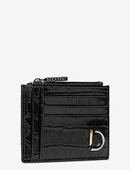 Decadent - Ellie card holder - card holders - croco black - 2