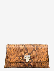 Decadent - Nora small clutch w/buckle - clutches - snake golden yellow - 0