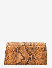 Decadent - Nora small clutch w/buckle - clutches - snake golden yellow - 2