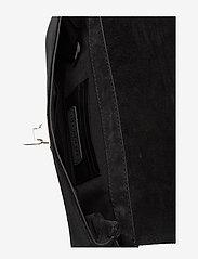 Decadent - Nora small clutch w/buckle - kirjekuorilaukut - suede black - 3