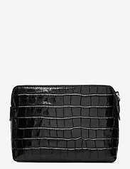 Decadent - Hannah makeup purse - clutches - croco black - 1