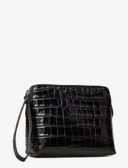Decadent - Hannah makeup purse - clutches - croco black - 2