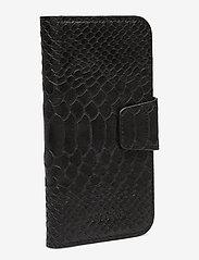 Decadent - Lea iPhone X/Xs flip cover - mobile accessories - anaconda black - 2