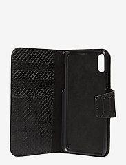 Decadent - Lea iPhone X/Xs flip cover - mobile accessories - anaconda black - 3