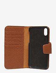 Decadent - Lea iPhone X/Xs flip cover - puhelinkotelo - cognac - 3