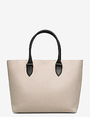 Decadent - Terri canvas tote - fashion shoppers - black - 1