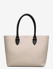 Decadent - Terri canvas tote - fashion shoppers - black - 3