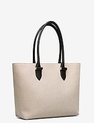 Decadent - Terri canvas tote - fashion shoppers - black - 4